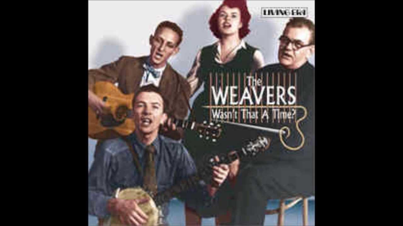 Good Night Irene >> The Weavers Goodnight, Irene - YouTube