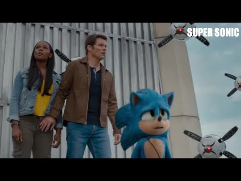 Download Sonic The Hedgehog   (2020)   San Francisco Building Scene   Hindi Clip  