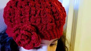 👭Como tejer gorro para niñas en crochet