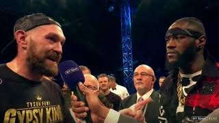 TYSON FURY & DEONTAY WILDER OFFICIAL!!! INITIAL THOUGHTS