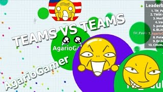AGAR.IO A VINGANÇA // TEAMS VS TEAMS #2 // (19179)