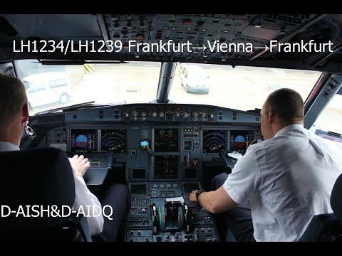 [FULL FLIGHT²] Frankfurt→Vienna→Frankfurt