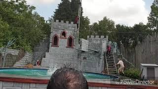 Avonturen park Hellendoorn drakenridders show