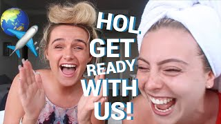 HOLIDAY GET READY WITH US! 🌴☀️🍹 | SYD AND ELL