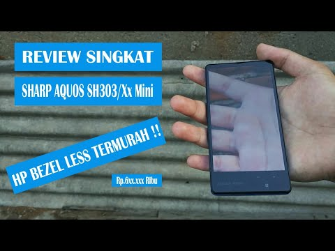 Review Singkat Sharp Aquos 303SH/Xx Mini : Desain Anti Mainstream