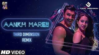Aankh Marey Remix Third Dimension Mp3 Song Download