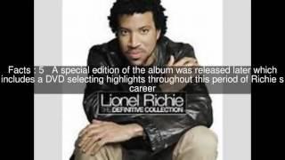 The Definitive Collection (Lionel Richie album) Top  #7 Facts