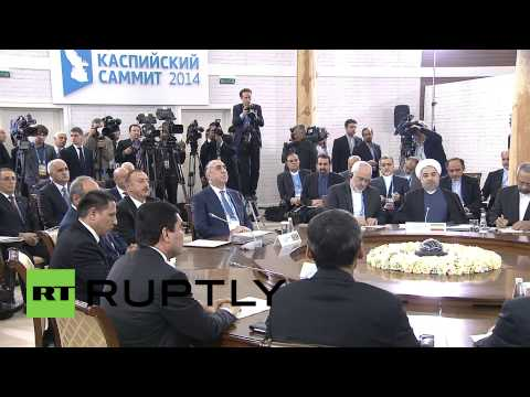 Russia: Putin delivers address to Caspian Summit 2014