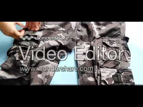 www.stocksales.de Camouflage pants Lot No.:  2150701V1