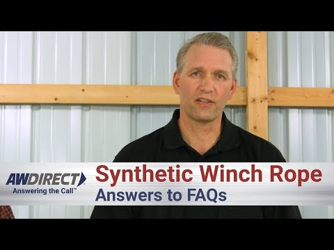 Synthetic Winch Rope for Towing Frequently Asked Questions and Answers