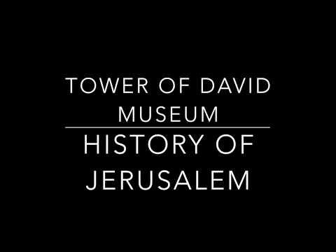 Tower of David Museum Night Spectacular