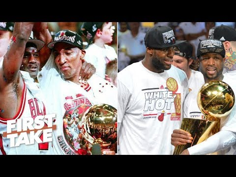 Where do LeBron and D-Wade rank among the best NBA duos of all time? l First Take
