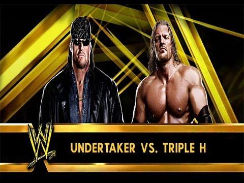 "WWE 2K14: ""American Badass"" Undertaker vs Triple H ..."