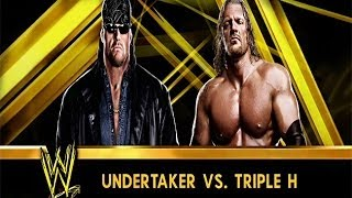 "WWE 2K14: ""American Badass"" Undertaker vs Triple H- Wrestlemania X-Seven"