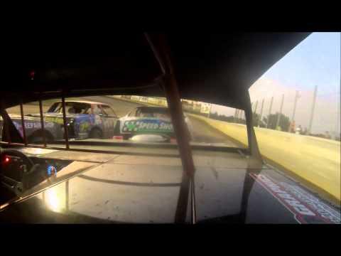 Deer Creek Speedway 8-15-15 Kyle King in-car