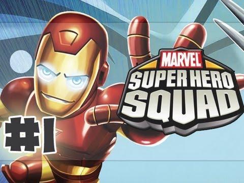 Marvel Super Hero Squad - The Infinity Gauntlet - Part 1 - Gameplay Walkthrough (HD)