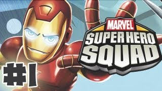 Marvel Super Hero Squad - The Infinity Gauntlet - Part 1 - Gameplay Walkthrough (HD)