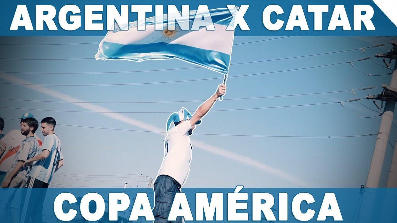 VLOG COPA AMÉRICA - TORCIDA ARGENTINA INVADE PORTO ALEGRE