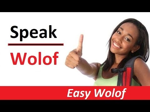 Learn Wolof Lesson 1