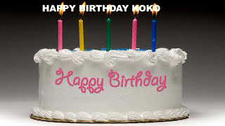 Koko - Cakes Pasteles_112 - Happy Birthday