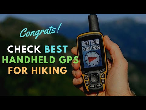 5 Best Handheld GPS For Hiking - Pick Your Best Handheld GPS Now