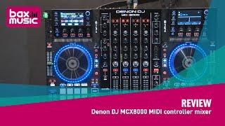 denon DJ MCX8000 MIDI controller mixer - Review