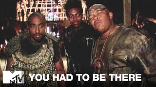 On the Set of 'California Love' w/ Tupac, Dr. Dre & Chris Tucker (1995)   You Had To Be There