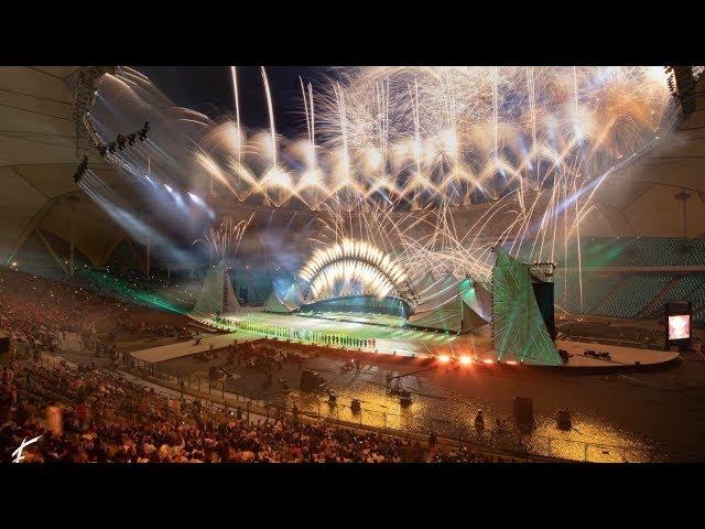 Cirque Du Soleil - SAND(Saudi Arabia Natlonal Day) | BMX duo act