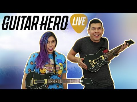 WE'RE TERRIBLE - GUITAR HERO LIVE - Husband vs Wife