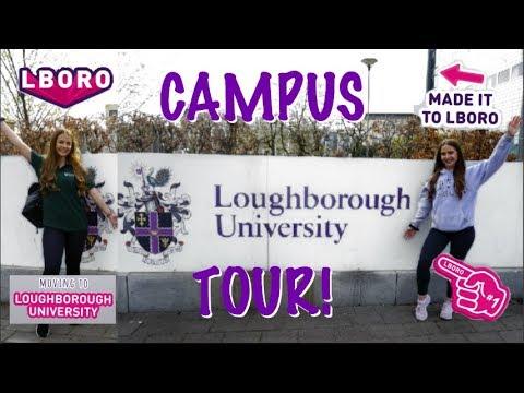 CAMPUS TOUR OF LOUGHBOROUGH UNIVERSITY 2019 - Twinfit_uk