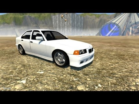 beamng drive crash testing 10 bmw e36 m3 sedan beta yourepeat. Black Bedroom Furniture Sets. Home Design Ideas