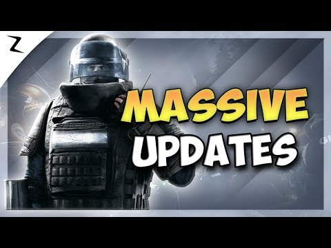 Massive Game Updates - Rainbow Six Siege