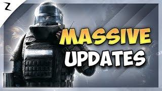 Massive Game Updates! - Rainbow Six Siege