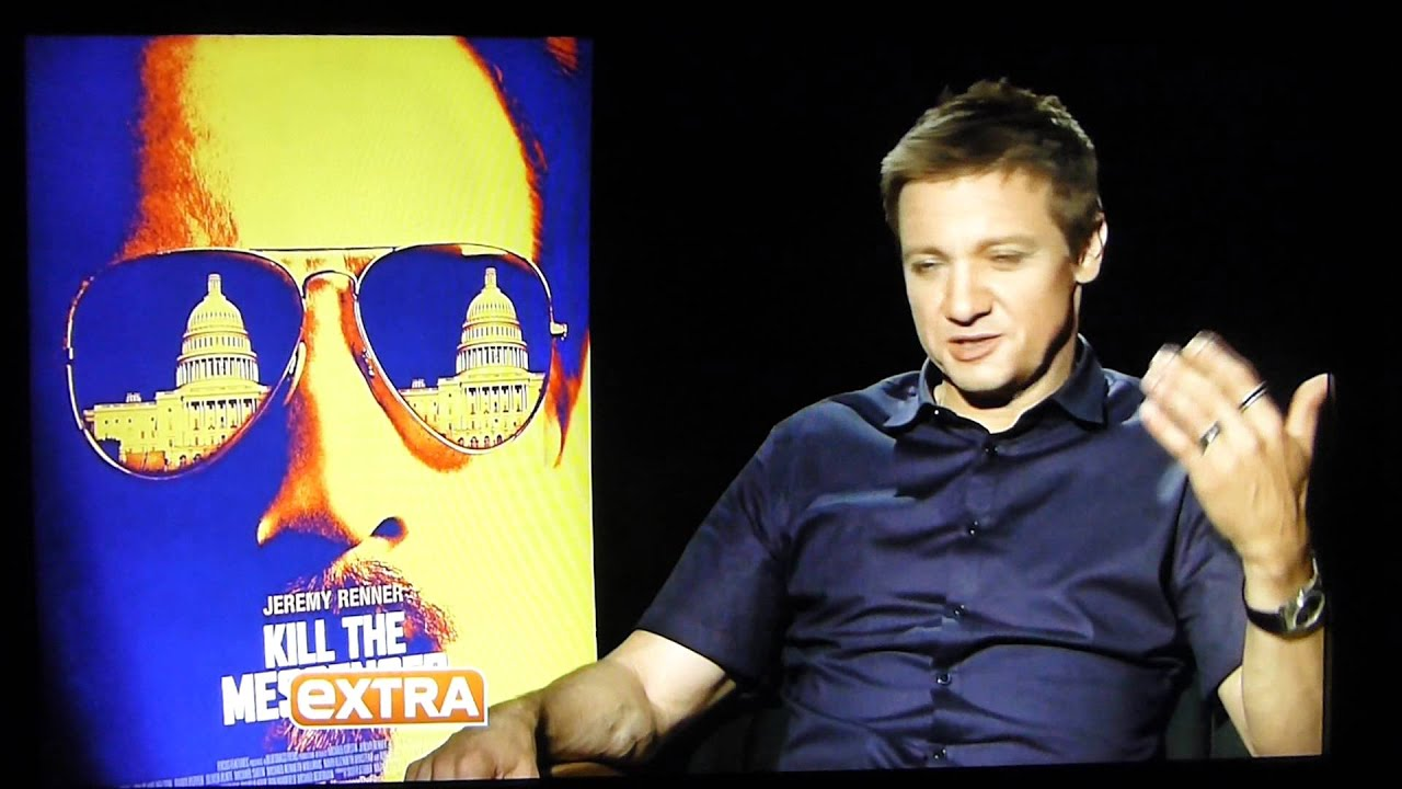 Jeremy Renner Ready To 'Kill The Messenger' In Film About CIA