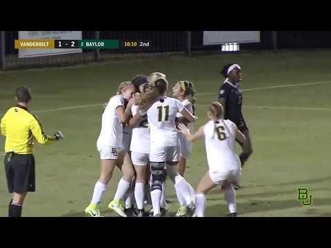 Baylor Soccer: Highlights vs. Vanderbilt