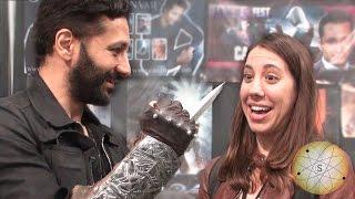 comikaze 2014 cas anvar of assassin s creed talks about the hidden blade