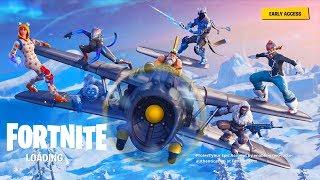 פורטנייט עונה 7 העדכון החדש!! קונה באטלפס וטס על מטוס!!! (פורטנייט - Fortnite)