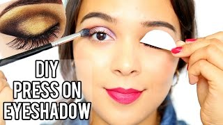 Beauty Busters: Poop or Woop? DIY Press On Eyeshadow Tattoos!
