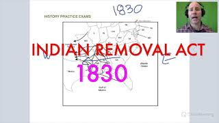 GOHMULTI ~ #14 HISTORY MTEL 06 Practice Test ~ Indian Removal Act 1830 ~ GOHACADEMY.COM