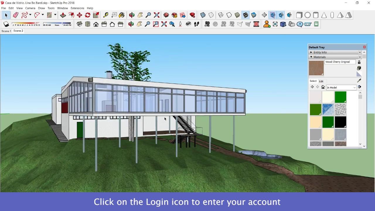 Sketchup Plugin for Visualize 3D Models in Oculus Go