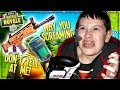 SCREAMING AT ANGRY KID SO LOUD HE CRIES ON FORTNTIE (Funny Fortnite Trolling)