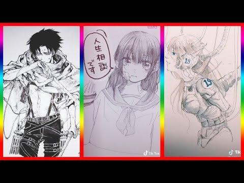 【ティックトック イラスト】ック絵 - Tik Tok Paint Anime #54