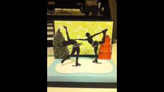 Stage pop up card