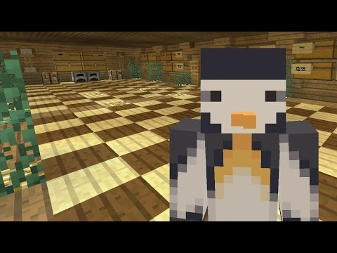 Minecraft Xbox - Series to Slay the Guardian - A Fancy Room [Part 8]