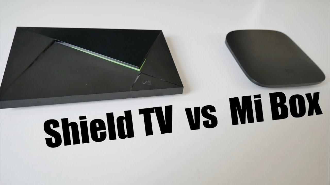 NVIDIA Shield TV vs XIAOMI MI BOX