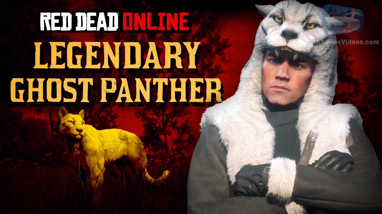 Red Dead Online - Legendary Ghost Panther Location [Animal Field Guide]