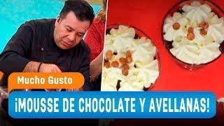 ¡Mousse de chocolate con avellanas! – Mucho Gusto 2018