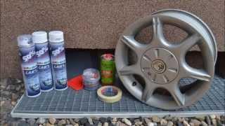 1. Péče o auto pro každého: Oprava alu kol doma (repair old car wheels)