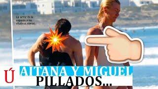 El beso de Aitana y Miguel a espaldas de su madre del que todo el mundo habla