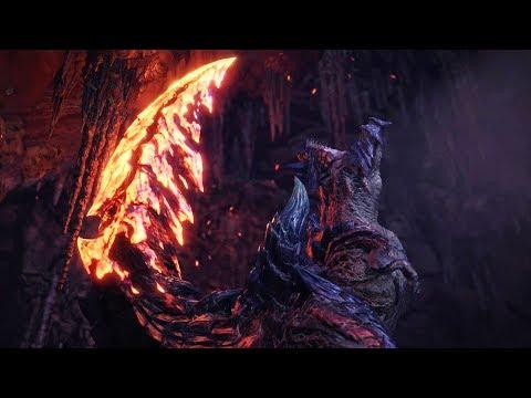 Monster Hunter World: Iceborne - Glavenus Boss Fight (Solo / Longsword)